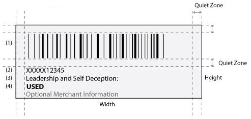 Item label specifications